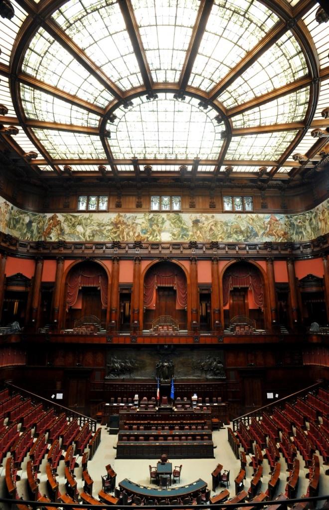 for Camera del senato e dei deputati